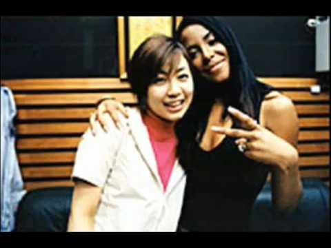 Utada Hikaru Interviews Aaliyah(June,2000)-Japan