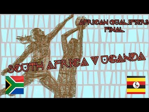 South Africa v Uganda   NWYC2017 African Qualifiers Final