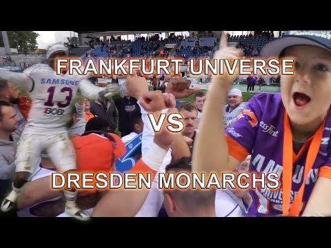 FRANKFURT UNIVERSE vs. DRESDEN MONARCHS /// PLAYOFFS
