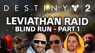 Destiny 2 - Leviathan Raid (blind run) deutsch | Part 1