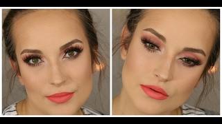 Makijaż z użyciem palety Sweet Peach od Too Faced