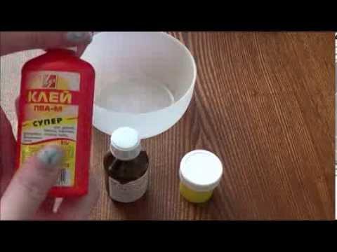 Как сделать жвачку в домашних условиях видео