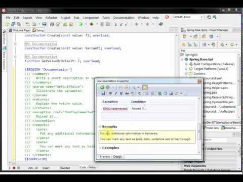 Documentation Insight 2 Demo