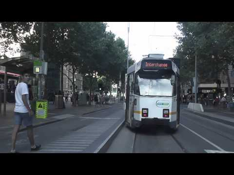 Melbourne Trams - Swanston St Drivers View April 2013 Route 16