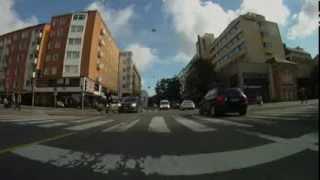 Driving in Turku Finland