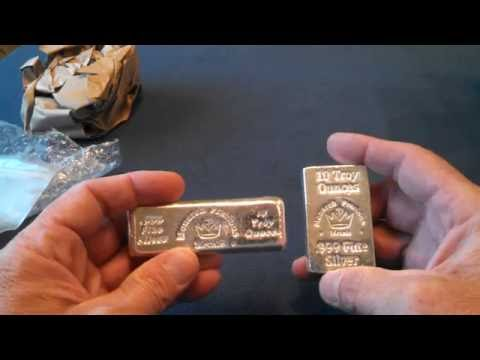 Unboxing from JM Bullion