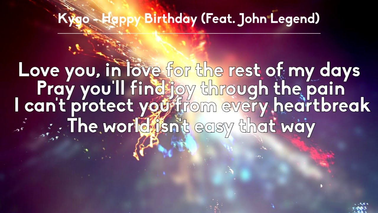 Happy Birthday To You Lyrics - Kid Song Lyrics - KidSongs ...
