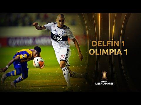 Delfín vs. Olimpia [1-1] | GOLES | CONMEBOL Libertadores 2020
