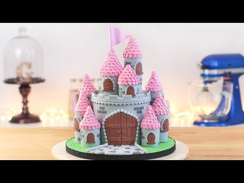 EASY PRINCESS CASTLE CAKE  Tan Dulce