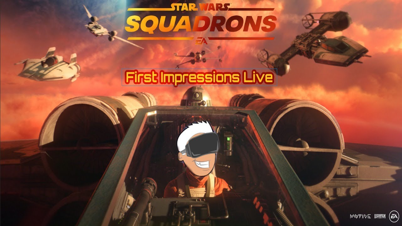 Squadrons and Yaw VR!!!