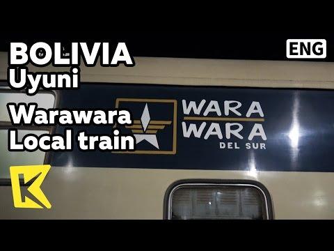 【K】Bolivia Travel-Uyuni[볼리비아 여행-우유니]와라와라 완행열차/Warawara local train/Uyuni station/Tupiza station