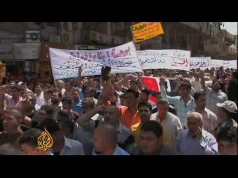 Iraqis march for national unity