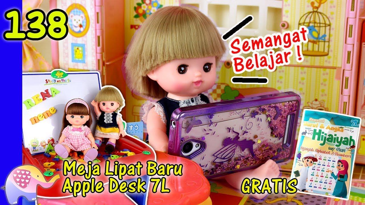 Download Mainan Boneka Eps 138 Semangat Belajar | Meja Belajar Lipat Apple Desk 7L Baru - GoDuplo TV
