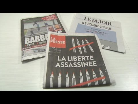 Canadian media divided over Charlie Hebdo cartoon