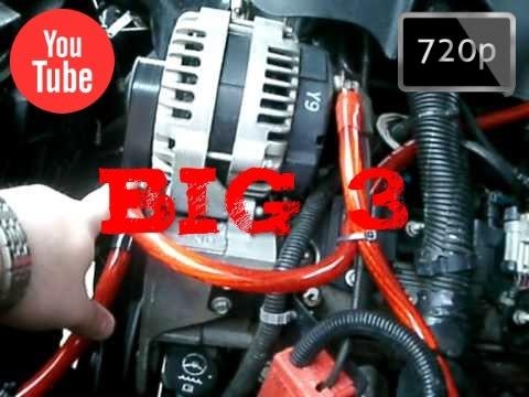 BIG 3 INSTALACION TEORICA  CAR AUDIO  HD  YouTube