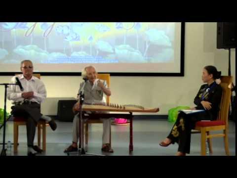 Nhạc sư Vĩnh Bảo thuyết giảng về Đờn Ca Tài Tử Nam Bộ tại ĐH Hoa Sen - Phần 1