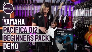 yamaha pacifica 012 beginners guitar pack - review & demo