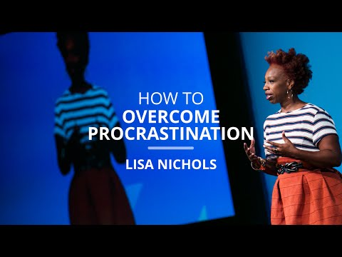 How To Overcome Procrastination By Leaping Afraid | Lisa Nichols