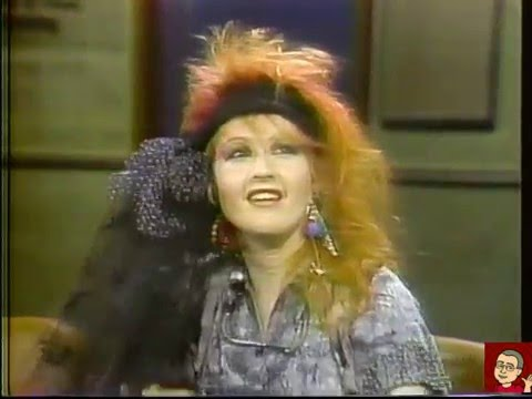 Cyndi Lauper  David Letterman  Feb 4, 1984 COMPLETE