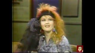 Cyndi Lauper - David Letterman - Feb. 4, 1984 (COMPLETE)