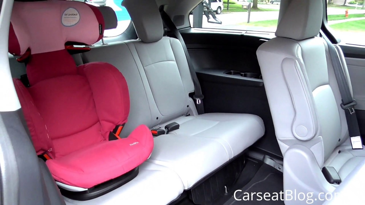 2018 Honda Odyssey Review: 3rd Row Seating - YouTube