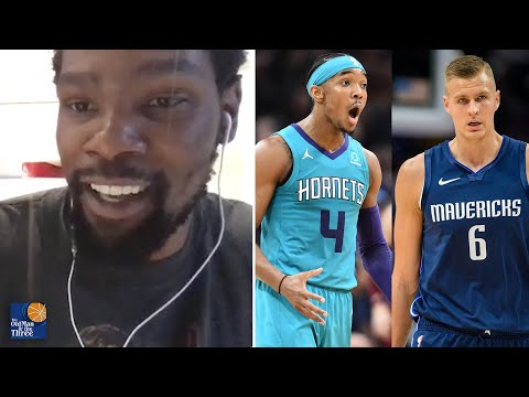 Kevin Durant on Why Zach LaVine, Devonte' Graham & Kristaps Porzingis are His Favorite Young Players to Watch