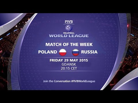 Full Match - Poland vs Russia - FIVB Volleyball World League 2015