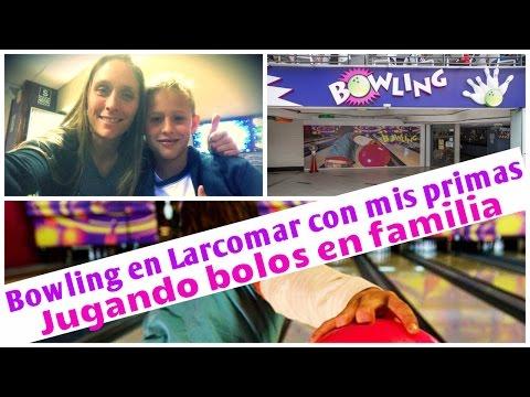 BOWLING EN LARCOMAR CON MIS PRIMAS - JUGANDO BOLOS EN FAMILIA