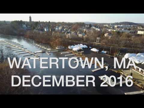 Drone Flight in Watertown, MA (With DJI Mavic Pro)