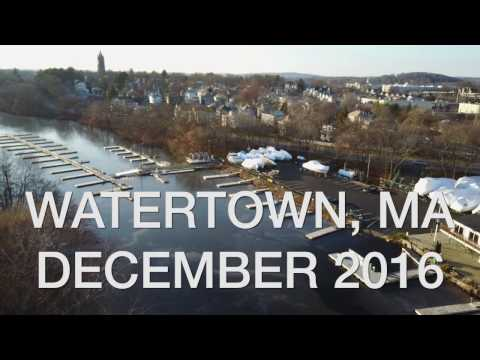 Drone Flight in Watertown, MA (With DJI Mavic Pro)