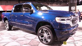 2019 Ram 1500 Limited - Exterior and Interior Walkaround - Detroit Auto Show 2019