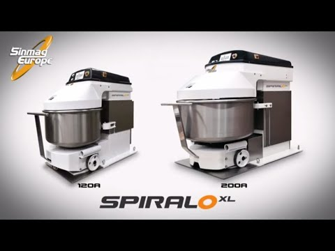 Spiral Mixer | Dough Kneader | SpiraloXL | Bakery Machines And Equipment | Sinmag Europe