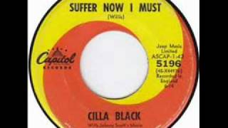 Cilla Black - Suffer now I must.Capitol..wmv