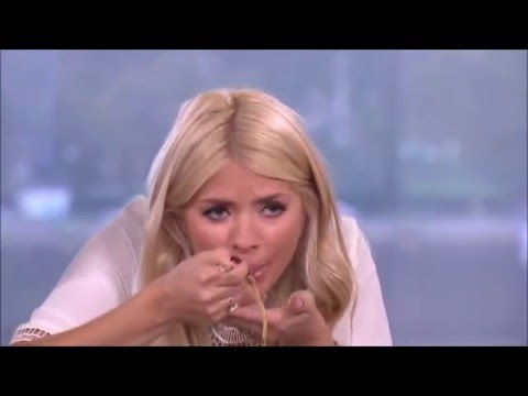HOLLY WILLOUGHBY DOUBLE ENTENDRE ON THIS MORNING