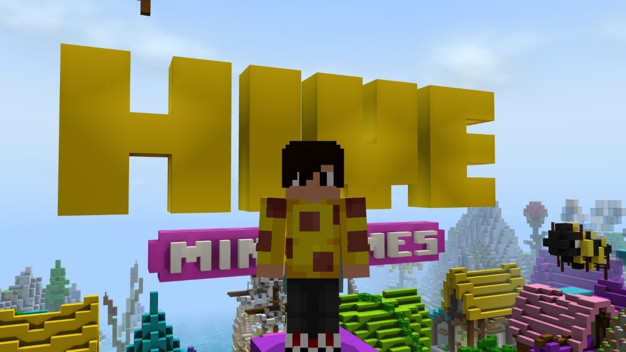 Hive Treasure Wars and OTHER MINIGAMES.