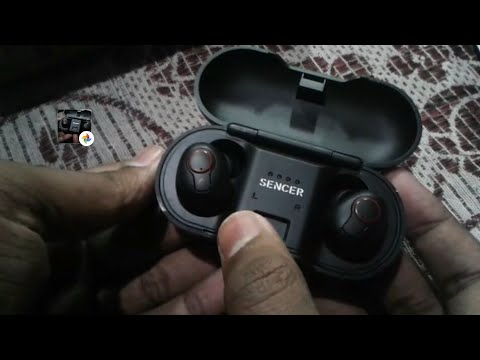 Sencer E100 wireless earphones  unboxing and total review in hindi