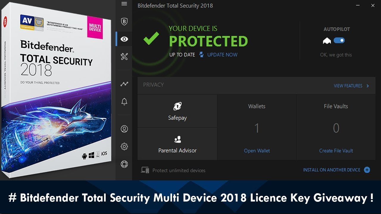 BitDefender Internet Security 2018 Build 22.0.15.189