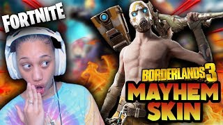 BORDERLANDS MAYHEM SKIN! *NEW* 😍 | Fortnite Battle Royale Gameplay