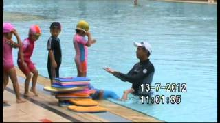 Kids Swimming Lessons at Bukit Batok Swimming Complex