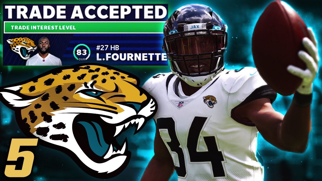 Leonard Fournette Gone Madden 21 Jacksonville Jaguars Franchise Youtube