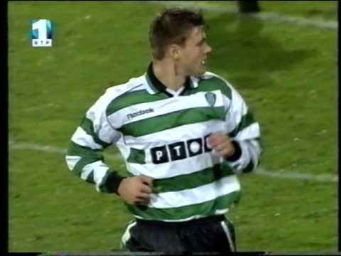Halmstads - 0 x Sporting - 1 de 2001/2002 Uefa