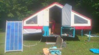 Прицеп-палатка своими руками Домик на колёсах/The trailer-tent with their hands