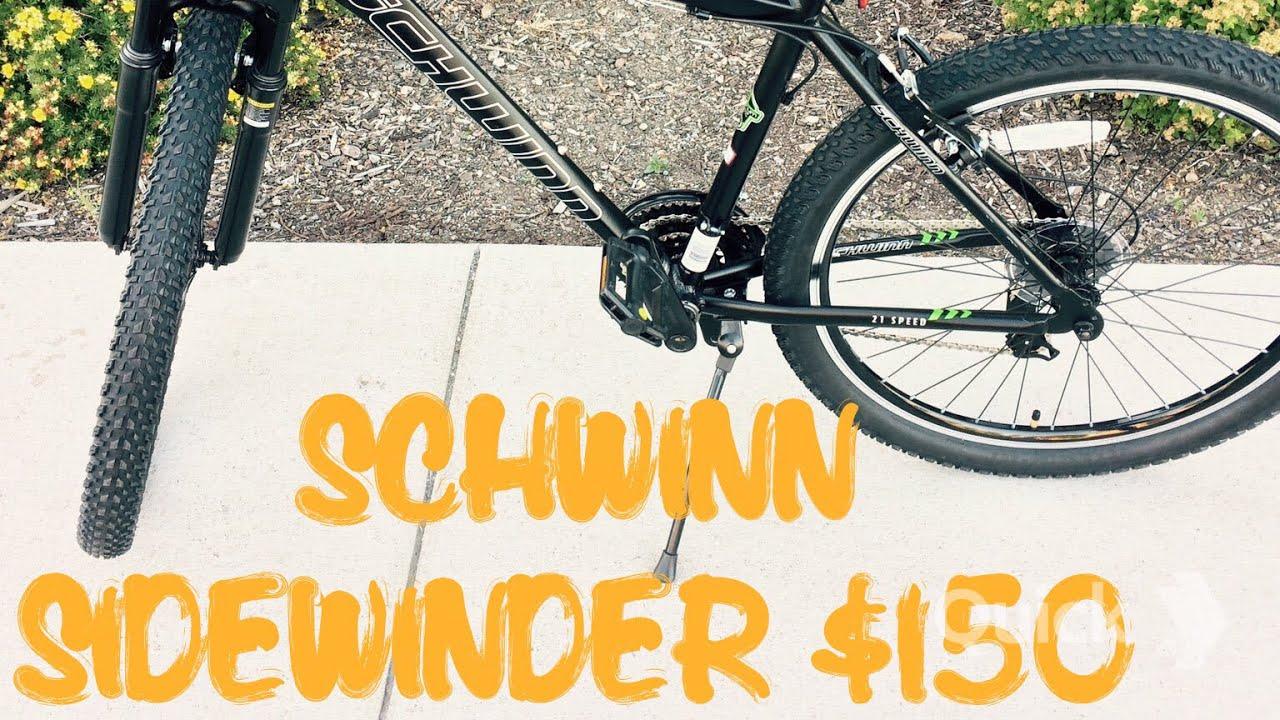 a179b6a5a62 My Schwinn Sidewinder 21 Speed Review - YouTube