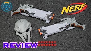 [REVIEW] Nerf Rival Overwatch Reaper Collector Pack Video