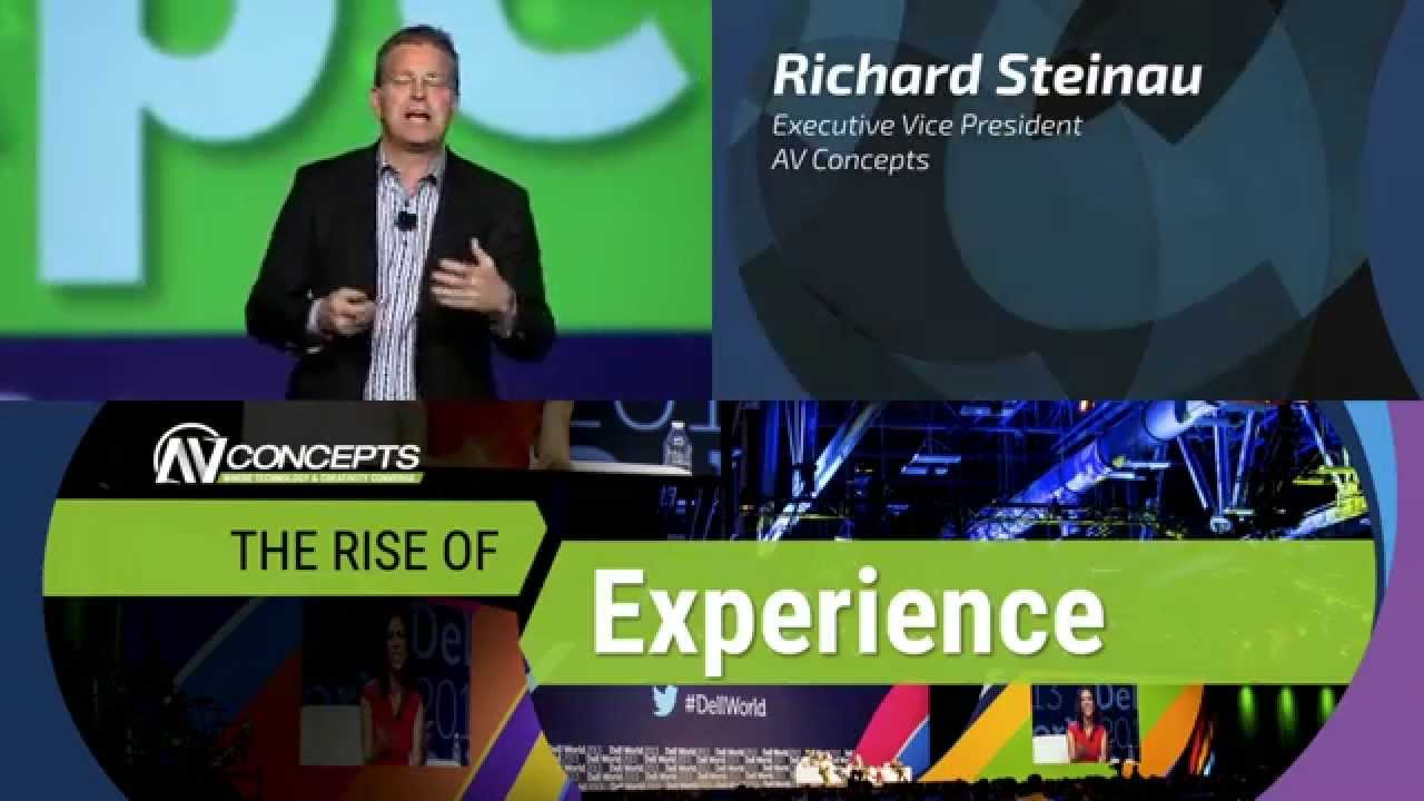 The Rise of Experience Keynote at Cvent CONNECT