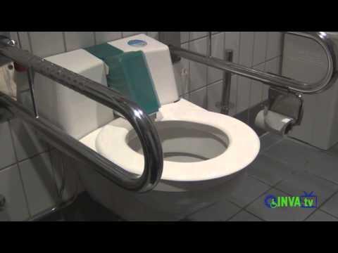 Туалет для инвалидов в аэропорту Германии