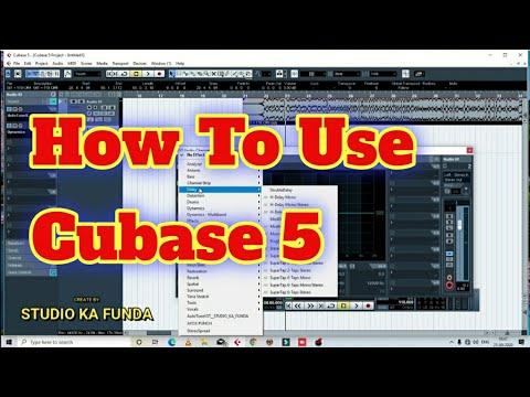 Download How To Use Cubase 5 । Cubase 5 Tutorial Hindi । Cubase 5 Basic । Studio Ka Funda