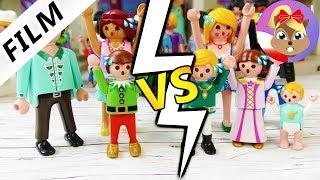 Playmobil Film polski - RODZINA ZAROZUMIALSKICH vs RODZINA SMARKALSKICH! KTO MA WIĘCEJ FORSY?