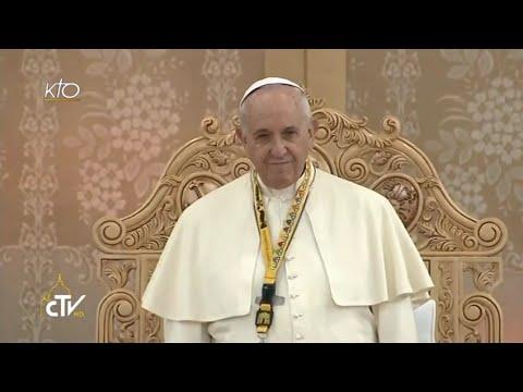 Rencontre du Pape avec les jeunes philippins