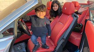 اصغر طفل في العالم سرق سيارة فيحان!??